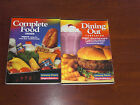 WEIGHT WATCHERS COMPANION BOOKS DINING OUT AND COMPLETE FOOD 2001 GREAT