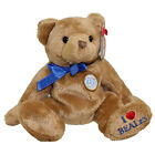 TY Beanie Baby - NIGEL the Bear (Beales UK Exclusive) (7 inch) MWMTs Stuffed Toy