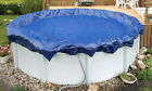 24 ABOVE GROUND POOL ROUND WINTER COVERS 15 YEAR for INTEX STEEL WALL