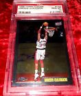 1998 TOPPS CHROME #132 HAKEEM OLAJUWON *A TOP 10 ALL-TIME POST PLAYER* PSA 10!