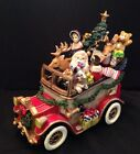 Fitz And Floyd Musical Santa Mobile We Wish You A Merry Christmas Tune