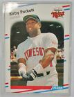 Kirby Puckett Cards, Rookie Card and Autographed Memorabilia Guide 9
