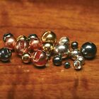 SLOTTED TUNGSTEN BEADS ALL SIZES AND COLORS