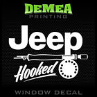 Jeep Hooked Personalized Window Car Decal Sticker 5
