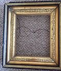 Victorian EASTLAKE Walnut Gilt GOLD  Gesso Shadow Box Frame