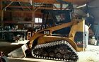 CAT 247 Tracked rubber tracks SKIDSTEER SKID STEER LOADER w heat