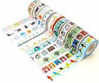 Funny Washi Tape Set of 10 Rolls Japanese Decorative Paper Tape Funny by DIY