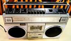 Vintage Sanyo M9925 Stereo AM/FM Radio & Cassette Player/Recorder Boombox