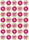 Doughnut Happy Mail  Stickers 175 Paper Rounds 37mm 5 a4 sheets