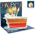 Up With Paper BIG SLICE OF CAKE Birthday UP WP 1186