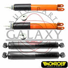 Monroe Replacement Front & Rear Shocks Pair Kit Fits Cadillac Escalade 02-06