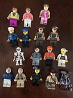16 Plus LEGO minifigures Indiana Jones Jack Sparrow Women Assorted Lot