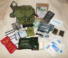 US Military Medical Survival First Aid Kit CAT Tourniquet Green M3 Medic Bag