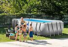 9x18x52 Intex 28351EH Rectangular Ultra Frame Above Ground Swimming Pool Kit