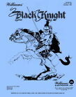 Black Knight Pinball Game Manual w/Instruction Booklet Williams-Blue Edition PPS