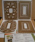 Anna Griffin Cuttlebug BERIBBONED FRAME Cut  Embossing Dies Set with Mat NEW