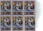 6) 2011 Playoff Contenders Bo Jackson Legendary Auto Autograph Lot Only 25 Made