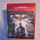 sony playstaion 3 ps3 batman arkham asylum complete!  tested!