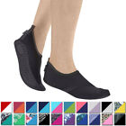 FitKicks Womens Breathable Ergonomic Comfort Non Slip Sole Active Footwear