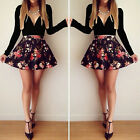 Fashion Women Long Sleeve Bodycon Casual Party Evening Cocktail Mini Dress