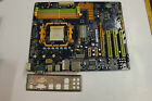 Biostar TF520 A2 AM2 Motherboard with I O Shield Tested Working