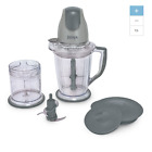 NEW Gray 48 Oz Bullet Blender Drink Smoothie Fruit Extractor Mixer Juicer Juice