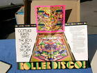 1980 Gottlieb ROLLER DISCO Pinball Advertising Brochure