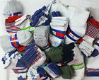 BABY SOCKS LOT 12 Pairs Newborn Infant Baby BOY Socks Cotton Size 6 12 MONTHS