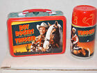 Cowboy Roy Rogers Trigger Salt  Pepper Shaker Lunchbox Thermos Set NEW in Box