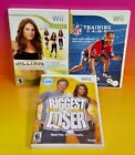 NFL Training Biggest Loser Jillian Fitness 2009 Nintendo Wii Wii U 3 Games