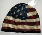 Beanie American Flag Distressed Look Sublimated Design Knit Hat Cap #1009