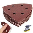 10x 90mm Detail Sanding Sheets Triangle Mouse Sander Pads 40 60 80 100 120 Grit