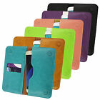 PU Leather Magnetic Slim Wallet Case Cover Sleeve Holder fits Vivo phones