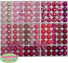 20mm Pink and Hot Pink Mixed Lot Bubblegum Beads 120 Chunky Gumball Beads