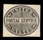 GENUINE SCOTT UO14 USED 1877 POSTAL OFFICIAL CUT SQUARE ESTATE CLOSE OUT