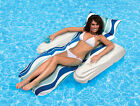 Poolmaster Rio Sun Adjustable Floating Swimming Pool Chaise Lounge