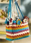 TRENDY Out With Baby Felted Bag Crochet Pattern INSTRUCTIONS ONLY