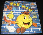 VINTAGE PACMAN PAC-MAN RECORD 45 Rpm BOOK SET GHOST DIGGERS 1984 RARE HTF