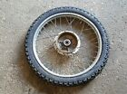1976 HONDA MT250 MT 250 ELSINORE FRONT WHEEL RIM TIRE hub DRUM