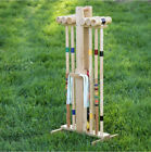 Croquet Set For Adults Kids With Stand Outdoor Lawn Games Yard Play Equipment