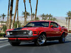 1970 Ford Mustang 428 SHAKER 4 SPEED NO RESERVE 1970 FORD MUSTANG MACH 1 R CODE 428 COBRA JET 4 SPEED CALYPSO SELLING NO RESERVE