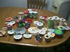 large lot of ribbon and nylon net some vintage some new bow sheen craft crafts