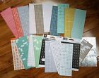 Alphabet stickers for planners journaling lot of 21 Studio112 letter number