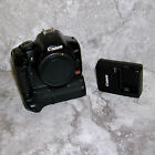 Canon EOS Digital Rebel Xsi 450D 101MP 2 Batteries Charger Strap Grip