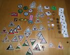 Huge Lot of 70 Vintage Girl Scout Pins And Badges