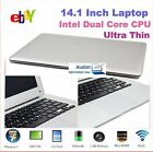 Ordinateur Portable Intel Atom Dual Core D2500 2GB HDD 160Go ROM HDD DDR3 Laptop