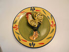 STYLE EYES/BAUM BROS PROVENCE ROOSTER COLLECTION  DECORATIVE PLATE-VG+ 8