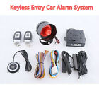 Auto Car Security Alarm System W Remote Push Button Start Stop Keyless Entry PKE