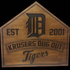 Wood sign personalized with your fav sports team