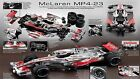 DEAGOSTINI BUILD THE McLAREN MP4/23 BIG 1:8 SCALE COMPLETE NEW MODEL LEWIS HAMIL